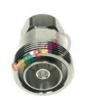 Adaptador coaxial RF 4.3/10 macho a 7-16 hembra