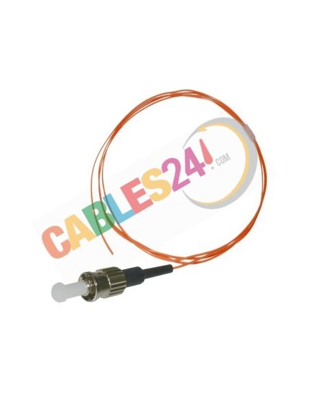 Cable Pigtail de Fibra ÓpticaMultimodo OM1 62.5/125 ST