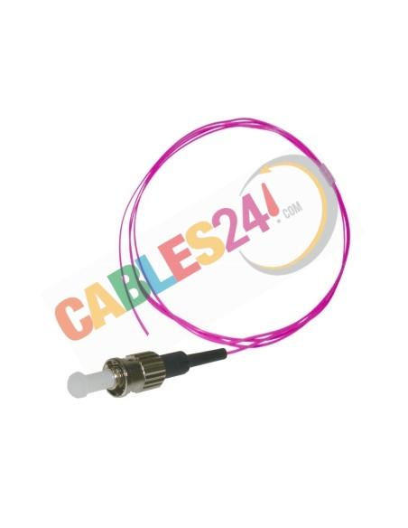Cable Pigtail de Fibra ÓpticaMultimodoOM4 50/125 ST