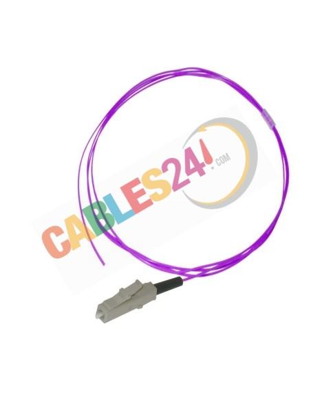 Cable Pigtail de Fibra Óptica Multimodo OM4 50/125 LC