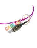 Cable Pigtail de Fibra Óptica Multimodo OM4 50/125 FC