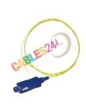 Cable Pigtail de Fibra Óptica Monomodo SC