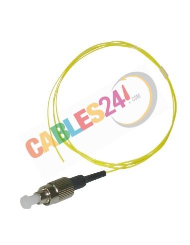 Cable Pigtail de Fibra Óptica Monomodo FC