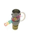 Adaptador coaxial BNC hembra DIN1.6/5.6 hembra 75 Ohm