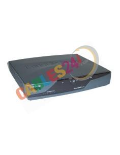 Router CISCO877-K9 ADSL2+ y cuatro puertos LAN Ethernet 10/100