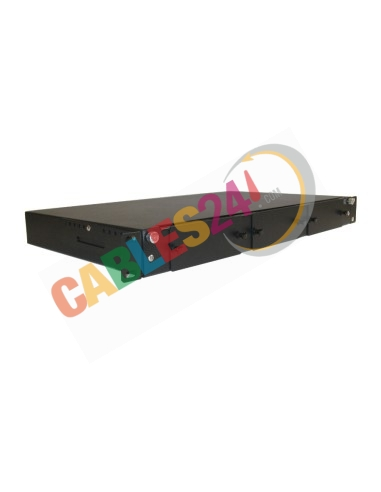 Chasis para Rack de 19 pulgadas 1U Modular para 3 casetes MPO