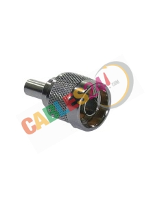 Conector Tipo N Recto Macho Crimpar para Cable RG-223