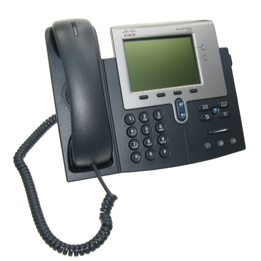 Cisco VoIP Unified IP Phone CP-7941G