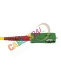 Latiguillo Cable Fibra Óptica Dúplex Monomodo SC/APC-SC/APC