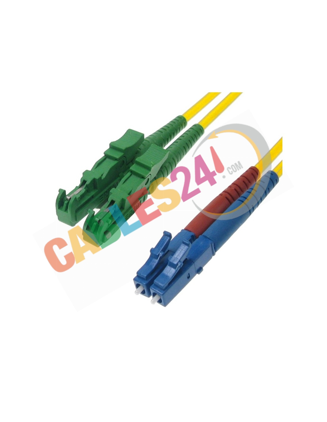 Fiber Optic Cable Duplex Singlemode 9 125 E2000 Apc Lc