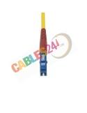 Fiber Optic Duplex Singlemode patch cord LC-SC