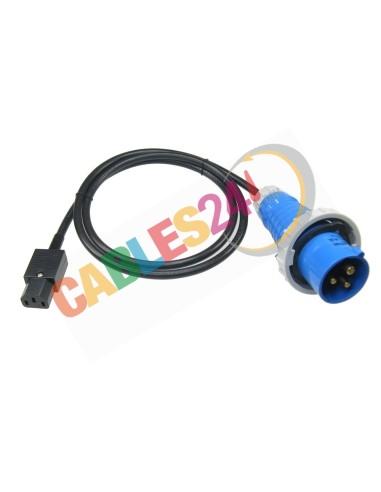 Power Cord C13 - Commando Plug Male
