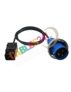 Power Cord C20 - Commando Plug Male