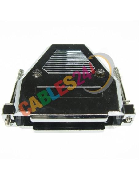 Carcasa SUB-D DB37 DB62HD plástica metalizada