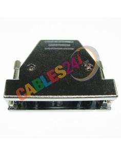 Carcasa SUB-D DB50HD DB78HD plástica metalizada