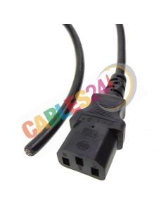 Cable Alimentación IEC C13 a extremo libre