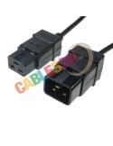 Cable Alimentación IEC C19 a IEC C20