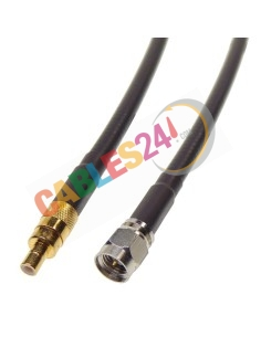 Cable RG223 SMB hembra a SMA macho recto