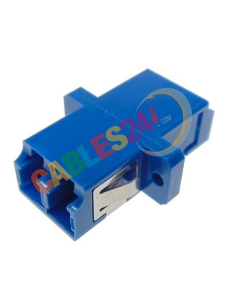 Fiber Optic LC Duplex single mode adapter