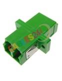 Fiber Optic LC/APC Duplex Singlemode adapter
