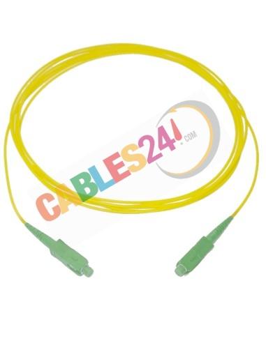 Cable Fibra Óptica ADSL doméstica de roseta a ONT 50cm