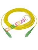 Cable Fibra Óptica ADSL doméstica de roseta a ONT 25m