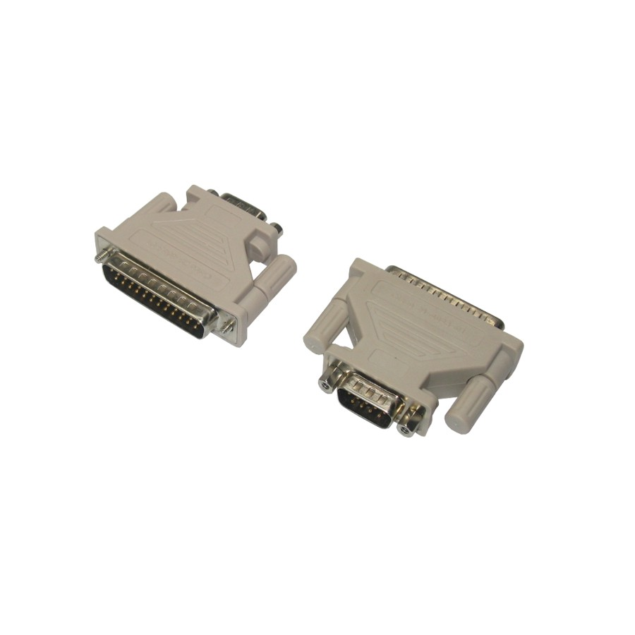 Cisco Modem adapter DB25 Male to DB9 Male 29-4043-01