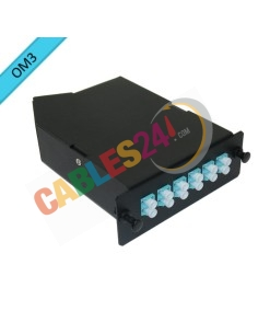 Módulo de casete MPO/MTP 12 fibras OM3 LC